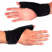 Left/Right Elastic Palm Glove Hand Support Brace Guard Wrist Support Splint Stabiliser Sprain Arthritis Thumb Spica(China)