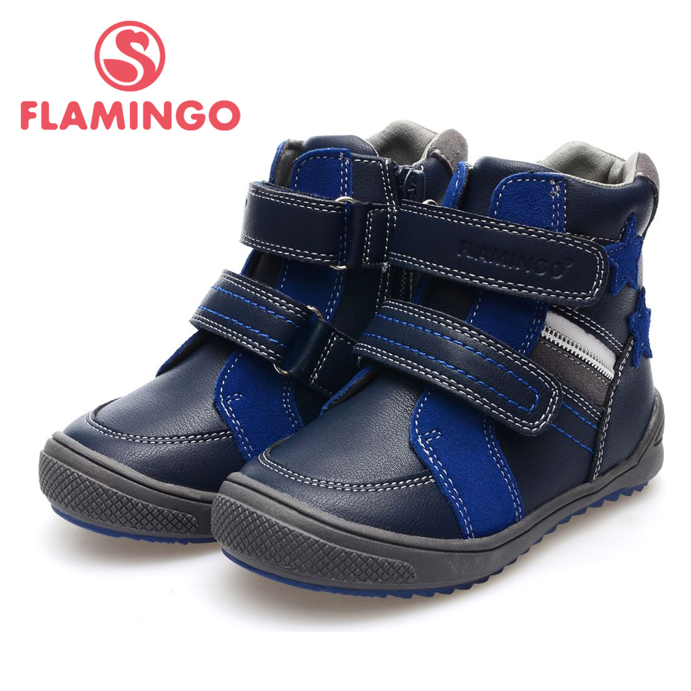 FLAMINGO 100% Russian Famous Brand 2015 New Arrival Autumn&amp;Winner children Fashion High Quality  Boots 52-XB127<br><br>Aliexpress
