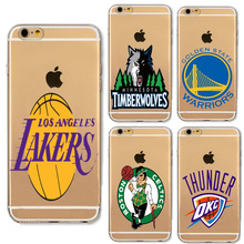 Basketball NBA Team Logo Design Phone Cases For iphone 5 Xiaomi Redmi 4 Pro 3S Huawei P8 P9 Lite Meizu U10 U20