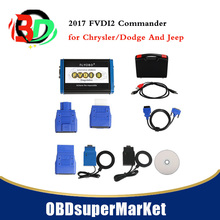 2017 FVDI2 Commander for Ch-rysler/Dodge And Jeep V3.3 Software USB Dongle Multi-Languages FREE updating(China)