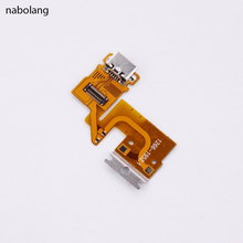 Nabolang For Sony Xperia Tablet Z USB Dock Charging Port Back Rear TabletZ Flex Cable Charger Connector Ribbon Replacement(China)