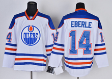 2017 new Ice Hockey Jersey eberle# 14 Hockey Jersey  On Ice Team  Hockey Jersey New Stitched blue-white canada hot sale quality