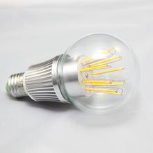 16pcs/lot 10W E27 Dimmable Led filament bulb clear grass edison light bulbs indoor led lighting 110/240V filament lamp