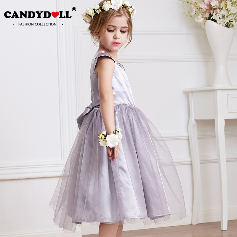 candydoll Children princess dress child girl party dresses lace ball gown beading sz 90-130 girls dresses for party and wedding<br><br>Aliexpress