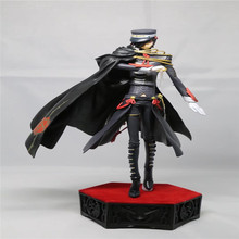 NEW 25cm Code Geass Lelouch of the Rebellion CODE BLACK Uniform Ver action figure PVC Collection anime figures toys model dolls