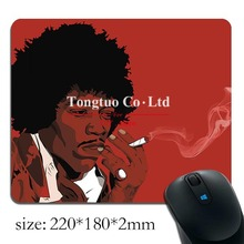 2015 Authentic jimi hendrix Background pattern Computer Notebook Mini mouse pad(China)