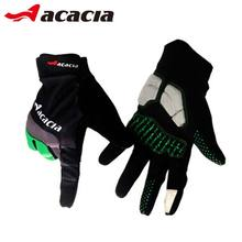 Acacia Men Black Windstopper Outdoor Sports Cycling Bike Bicycle Winter Warm Sports Full Finger Gloves 03943