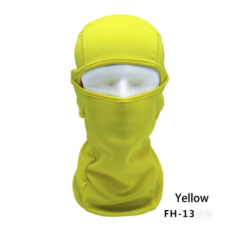Have An Inquiring Mind 10 Color Unisex Cycling Bicycle Bike Motorcycle Mask Protection Full Face Lycra Balaclava Headwear Neck Cycling Mask High Quality Girl's Hats