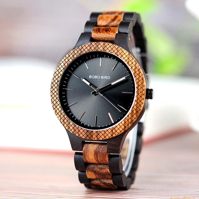 BOBO BIRD Luxury Brand Wood Watch For Men Miyota Quartz Movement Wristwatch Accept Customize Gift Relogio Masculino J-D30-1<br>