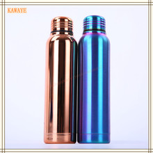 1Pcs Creative Stainless Steel Insulated Cup Vacuum Flask Travel Coke Glass Cup Outdoor Sports Bottle Office Drinkware 6ZD417(China)