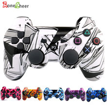 High Quality Bluetooth Wirelss Controller for PS3 Gamepad Colorful Nice Gamepads for For SIXAXIS PlayStation3 Accessorie(China)