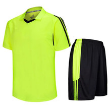 Fluroescent Football Training Jersey Customized Blank Jerseys Uniform adults/kids Soccer Training Suits LD5008