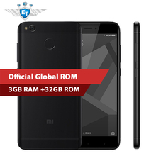 "Original Xiaomi Redmi 4X Pro 4 X 3GB 32GB Smartphone 5.0"" HD Snapdragon 435 Octa Core 4100mAh 13.0MP Global ROM LTE OTA MIUI 8.2"