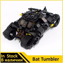 Building Blocks 7105 Tumbler Batman Bat Tumbler Compatible with Super Heroes Batman Toys For Children(China)