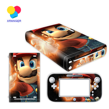 Super Old Man Vinyl Skin Sticker Protector for Nintendo Wii U and controller skins Stickers WiiU-0047