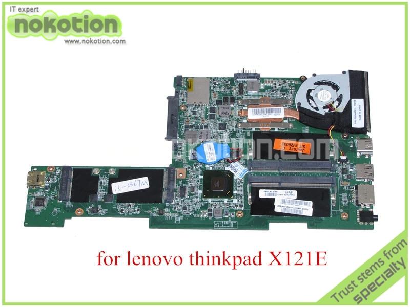 laptop motherboard for lenovo thinkpad X121E DA0FL8MB8C0 REV C FRU 04w3372 i3-2367M HM65 DDR3<br><br>Aliexpress