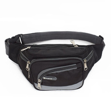 Brand Waist Bag Men Travel Fanny Pack for Women Fashion Functional Waist Bags Money Phone Belt Bag Travelling Mobile Phone Pouch(China)