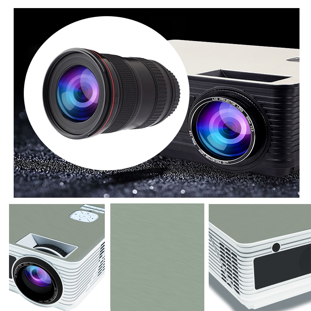 VIVICINE 5500Lumens 1080p HD LED Projector (15)