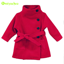 KEAIYOUHUO 2017 Infant Girls Coats Winter Jackets For Girls Jackets Kids Warm Parkas Children Outerwear Coat Baby Girls Clothes