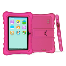 Yuntab new arrival 7 inch Android 4.4 kid Tablet PC load Iwawa kid software with 3D-Game ,educational tablet for children