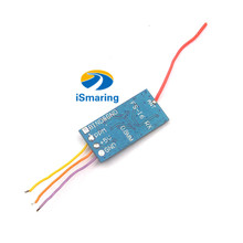 Official iSmaring New Arrival iRangX Tiny 2.4G 6CH Flysk Receiver Compatible With Flysky PPM Output For Eachine QX80 QX90 QX95