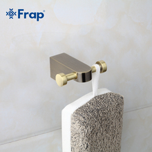 Frap Antique Style Robe hook Wall Mount Single Screw Towel Holder Bathroom Accessories Clothes Hook F1405-2(China)