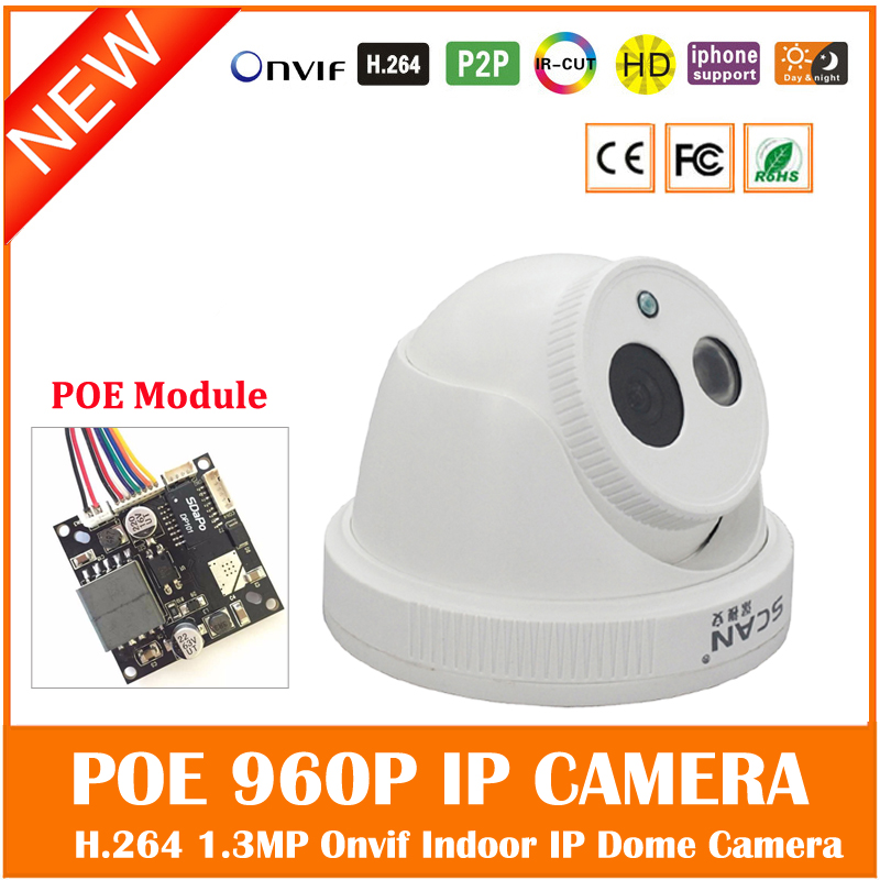Hd 960p Ip Camera Poe Motion Detect Security Surveillance Infrared Night Vision White Cmos Webcam Onvif Freeshipping Hot Sale <br>