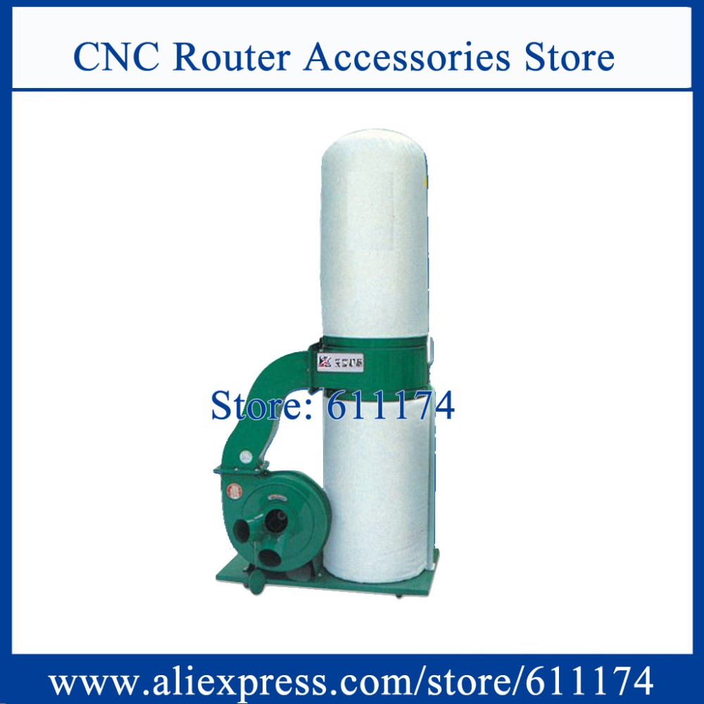 3 phase AC380V 2.2Kw wood cnc router dust collector single barrel vacuum cleaner wood dust collector(China (Mainland))