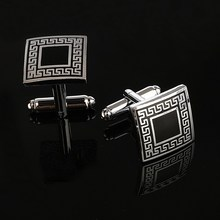 ZOSHI Luxury Laser pattern gemelos shirt cufflinks for mens Brand cuff buttons cuff links High Quality abotoaduras Jewelry(China)