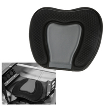 1pc Kayaking Canoeing Delux Seat Support Cushion Antiskid Cushiony Seat Base Rowing Boat Accessories Seat Back Pad Support Black