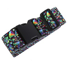 Luggage Belt Strap Suitcase Strap Travel Luggage Packing Belt Baggage Travel Belt for Luggage with High Quality Buckle Fabric