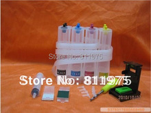 Continuous Ink Supply System Universal 4Color CISS kit part ink tank for HP Canon EPSON Brother printer Drill pumping ink folder