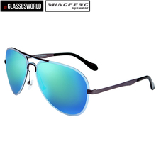 2017 Fashion sunglasses shipping from china unisex metal sunglasses(China)