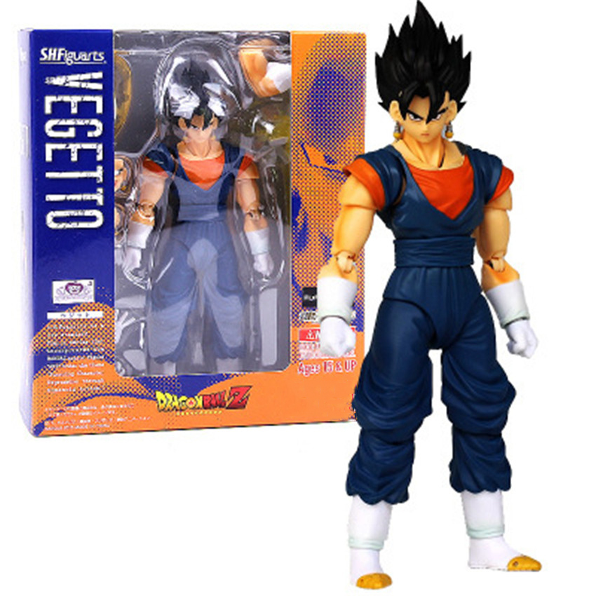Japan Anime Dragon Ball Vegetto 16cm PVC Action Figure Model Collection Toy By S.H.Figuarts With box<br><br>Aliexpress