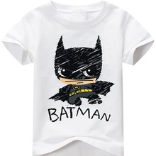 Tops Male T Shirt Crew Neck Men New Style Short Sleeve Sun Baby Infants Toddlers Batman Tee Shirt(China)