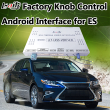 Factory Knob Control Android Navigation Interface Two-in-one Unit for 2014-2017 Lexus ES supprot Mobilephone Miracast(China)