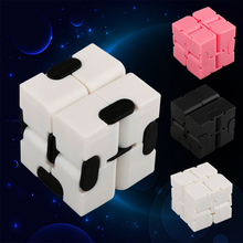 Buy Newest Infinite Cube Fidget Infinity Cube Plastic Creative Magic Cubes Office Flip Cubic Puzzle Anti Stress Relax Toys for $2.62 in AliExpress store