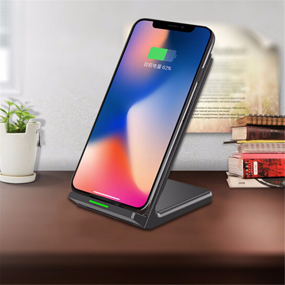 QI Support fast charging 10w android wireless charger apple power bank iphone 6 7 8xabs charger mobile phone charger