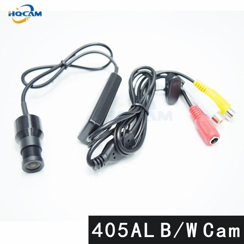HQCAM B/W camera 405AL Sony 1/3 CCD 480TVL Black and white image For Analog Camera mini camera Mini Bullet Square Surveillance <br>