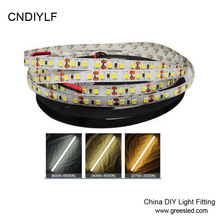 120LED/m White 2835  LED Strip Light DC 24V  Emitting Diode Tape 2835   5m/Roll  Provide Customzine  Fast  Ship