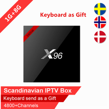 Buy Swedish IPTV X96 8GB Rom android tv box Arabic Scandinavian IPTV Spain Nordic Israel iptv IP TV subscription VOD smart tv box for $64.80 in AliExpress store