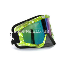 Adult Motocross Glasses Motorcycle Mask Goggle Dirt Bikers Sunglasses Google MX Off-Road Goggles bamboo style