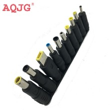 New 10pcs/Set 5.5x2.1mm Multi-type Male Jack for DC Plugs for AC Power Adapter Computer Cables Connectors for Notebook Laptop(China)