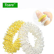 * Tcare 3Pcs/Lot Hot Sale Finger Massage Ring Acupuncture Ring Health Care Body Massage Body Finger Health Care(China)