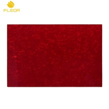 FLEOR 4Ply PVC&Celluloid Guitar Bass Pickguard Blank Material Sheet Scratch Plate 430x290x2.3mm ,Red Pearl