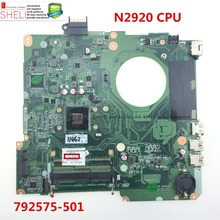 792575-501 for HP 15-F 15-F023WM motherboard for Intel Celeron N2920 SR1SF DAU88MMB6A0 working perfectly SHELI stock No.004(China)