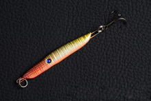 1Pcs Iron plate Metal Lead Fish Bait 5.7cm 13g Fishing Sinking Jigging Lure Reflective Belly Sea Fishing Tackle(China)