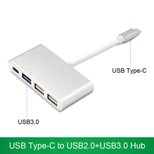 USB Type-C to USB3.0 USB2.0+PD Charge Hub USB-C to USB-A Adapter Type-C Converter For Apple air pro chromebook Dell XPS 12/13