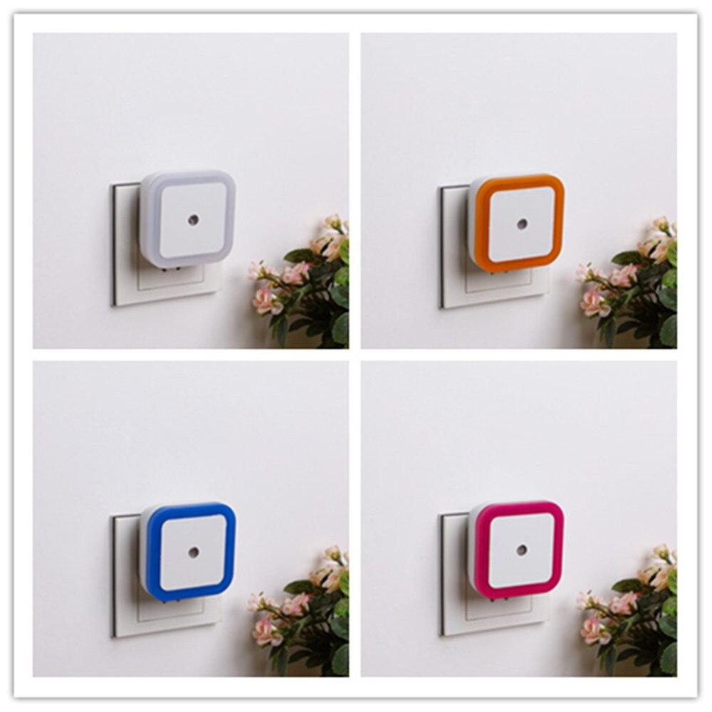 SuperNight Square AC LED Night Light Intelligent light control Sensor Home Decor Wall Lamp Corridor Stairs Bedroom Bedside Lamp (10)