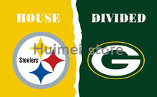 Pittsburgh Steelers Flag Banner Vs Green Bay Packers Flag GIFT Banner Flag(China)